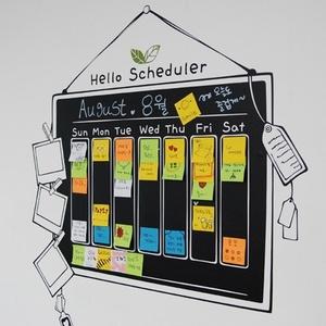 나무자전거 그래픽스티커 179-scheduler헬로스케쥴러 - hello scheduler, 나무자전거