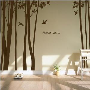 나무자전거 그래픽스티커[mk] Protect nature, 나무자전거