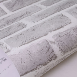 나무자전거 시트지 코블 파벽돌 그레이 (SM4250-3)