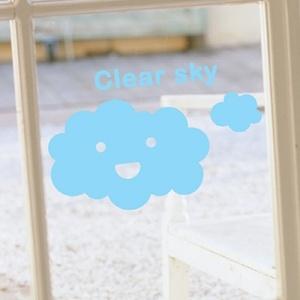 나무자전거 그래픽스티커[mk] 맑은 하늘, 나무자전거