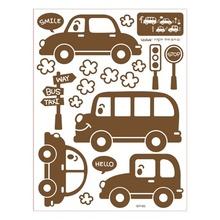 나무자전거 포인트 데코스티커 uni [GDT-902]자동차, 나무자전거