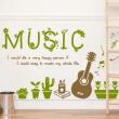 나무자전거  그래픽스티커 [GG] cj282-모든인생을음악과함께할수있다면, 나무자전거