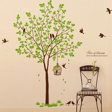 나무자전거 그래픽스티커 [blue]꿈꾸는나무, 나무자전거