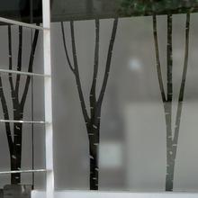 나무자전거  안개스티커 [mk] [BSP-056] 자작나무, 나무자전거