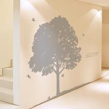 나무자전거 그래픽스티커[kz] 풍성한나무 [050], 나무자전거