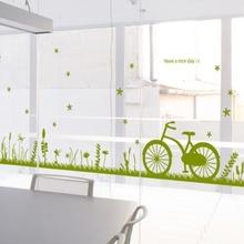 나무자전거  그래픽스티커 [GG] ch172-네이쳐스토리(잔디와풀꽃), 나무자전거