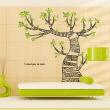 나무자전거  그래픽스티커 [GG] ih477-젠탱글아트트리(zentangle art tree), 나무자전거